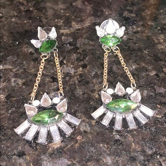 Art Deco dangle earrings
